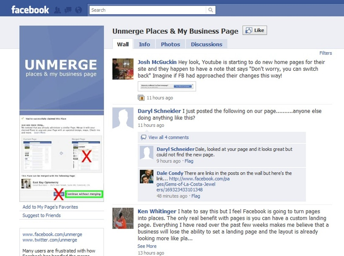 how to get facebook my home page